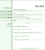 GreenLine - Template Screenshot