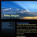 Spectral - Template Screenshot